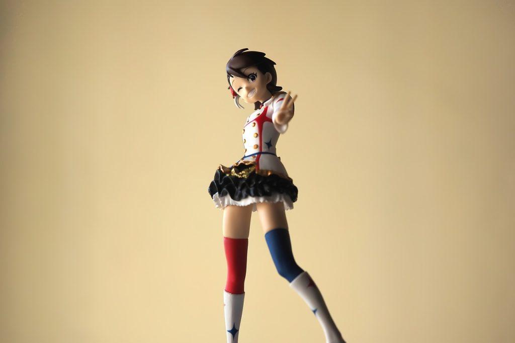 女性アイドルの人形